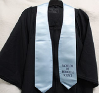 Bachelor Of Biological Science Stole